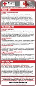 Red Cross Recruitment Advertisement