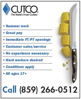 Cutco Recruitment Advertisement