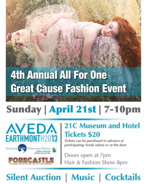 Aveda Earth Month 2013 Event Flyer