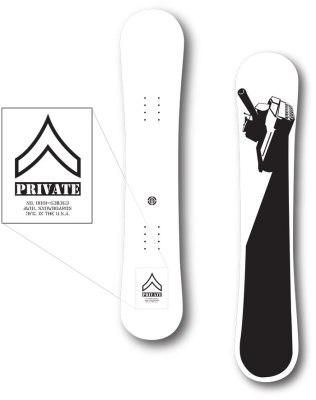 AWOL Snowboards - Private Design