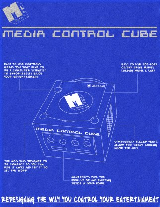 Media Control Cube Product Data Sheet (School Project)