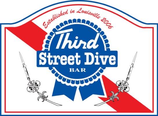Third Street Dive T-shirt Design